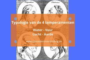 Typologie van de 4 temperamenten